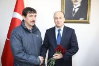 TÜRK POLİS TEŞKİLATI - AK Parti Bünyan İlçe Başkanlığından Emniyeti Ziyaret Etti