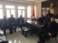 AK Parti Çıldır İlçe Teşkilatı, Çıldır İlçe Emniyet Amirliğine Taziye Ziyaretinde Bulundu