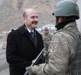 SELAHADDIN - Bakan Soylu'dan Asker Ve Polislere Ziyaret