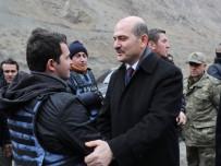 SELAHADDIN - Bakan Soylu'dan Polise Destek Ziyareti