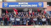 Bartın Üniversitesi Öğrencilerinden Polislere Taziye Ziyareti