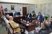 ERDEMIR - Başkan Erdemir'den Müdür Bozçelik'e Ziyaret