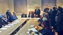 SAHİL YOLU - Başkan Soğanda Kentin Sorunlarını Bakan Arslan'a İletti