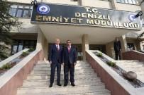OSMAN ZOLAN - Başkan Zolan'dan Emniyet Müdürü Demir'e Ziyaret