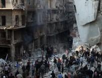 SELAHADDIN - Halep'te ateşkes ilan edildi