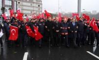 İTFAİYE ERİ - İstanbul İtfaiyesi, Patlamanın Meydana Geldiği Şehitler Tepesi'ni Ziyaret Etti
