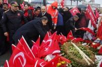 İTFAİYE ERİ - İstanbul İtfaiyesi Şehitler Tepesi'ni Ziyaret Etti
