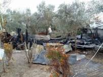 Kadirli'de Depo Yangını Korkuttu