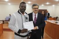 Karaman'da Türkçe Öğrenen Mültecilere Sertifikaları Verildi