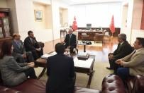 Kılıçdaroğlu Gaziler Ve Şehit Aileleri Vakfı Başkanını Kabul Etti
