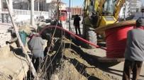 ELEKTRİK DİREĞİ - Kulu'da Elektrik Hatları Yer Altına Alınıyor
