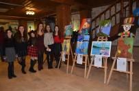 KUŞADASI BELEDİYESİ - Kuşadası'nda 'Sanatölye' Resim Sergisi Açıldı