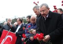 İSMAIL ERDEM - Sancaktepe Belediye Başkanı İsmail Erdem, Beşiktaş'ta Şehitleri Andı