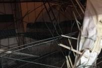 Şiran'da Halı Saha Çöktü Açıklaması 4 Yaralı