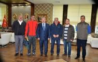 HEREKE - Spor Kulübü Yöneticilerinden Başkan Baran'a Teşekkür
