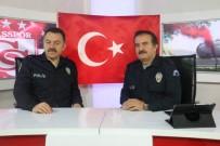 SPOR PROGRAMI - Spor Programını Polis Üniformasıyla Sundular