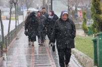 KAPIKULE SINIR KAPISI - Trakya'da Kar Yağışı Başladı