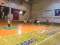MUSTAFA KEMAL ÜNIVERSITESI - Üniversiteler Arası 2. Lig Basketbol Maçları Aydın'da Başladı
