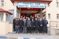 HATIPLI - Yahyalı Belediyesi'nden İlçe Emniyet Müdürlüğü'ne Ziyaret