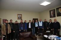 EROL AYDIN - Adapazarıspor'dan Başkan Yardımcılarına Ziyaret