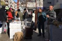 PAZAR ESNAFI - Antalya'da Pazar Esnafının Soğukla İmtihanı