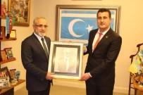 OCAKLAR - Bağımsız Belediye Meclis Üyesi Erdoğan Yeşil'in Ankara Temasları