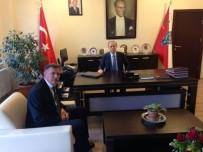VEZIRHAN - Başkan Duymuş'tan İl Emniyet Müdürü Namal'a Taziye Ziyareti