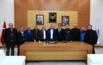 HAKEM KURULU - Başkan Toçoğlu ASKF Başkanını Ağırladı