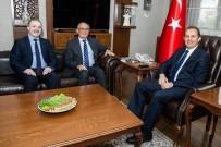 AHMET TURAN - Başkan Yılmaz'dan Vali Taşyapan'a Ziyaret