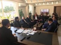 CENK ÜNLÜ - Didim AK Parti'den Emniyete Başsağlığı Ziyareti