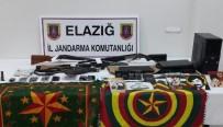Elazığ'daki PKK Operasyonunda Silah Ele Geçirildi