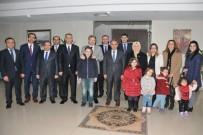 Karaman'da Vali Yardımcıları Ve Kaymakamlar İçin Veda Yemeği Verildi