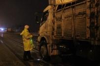 Karaman'da Yoğun Kar Yağışı