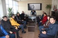 KAYSERİ LİSESİ - Kayseri Lisesi Öğrencilerinden Anlamlı Ziyaret