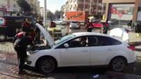 YUNUS TİMLERİ - Kaza Yapan Şüpheliler Kıskıvrak Yakalandı