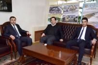 Mahkeme Başkanı Akkaş Ve Hakim Güzel'den Başkan Yazgı'ya Ziyaret