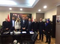 AHMET ÖZDEMIR - Özdemir Ve Yönetim Kurulu; Turanlı'yı Ziyaret Etti