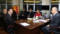 Rektör Kılıç Ve Senato Üyelerinden İl Emniyet Müdürü Altunay'a Destek Ve Taziye Ziyareti