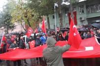 KÖY KORUCULARI - Siirt'te Teröre Tepki Yürüyüşü