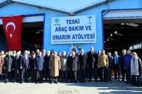 ŞAFAK BAŞA - TESKİ'nin Araç Bakım Ve Onarım Tesisi Açıldı