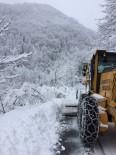 İBRAHIM SAĞıROĞLU - Trabzon'da Karla Mücadele Çalışmaları