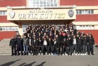 POLİS TEŞKİLATI - Türkiye Boks Federasyonundan Çevik Kuvvete Destek Ziyareti