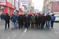ÜLKÜCÜLER - Ülkücüler Polisler İçin Yürüdü