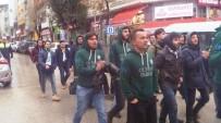 TİMSAH - UNİ BJK Ve UNİ Timsah Taraftar Grubundan Teröre Tepki Yürüyüşü