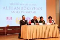 Alihan Bökeyhan Doğumunun 150. Yılında İstanbul'da Anıldı