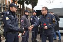 FUTBOL MAÇI - Balıkesirspor'dan Polisine Taziye Ziyareti