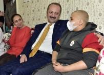MAMAK BELEDIYESI - Başkan Akgül'den Alper'e Moral Ziyareti