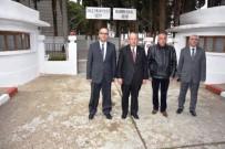 ŞEHİTLİKLER - Başkan Albayrak Namık Kemal Ve Süleyman Paşa'nın Mezarını Ziyaret Etti