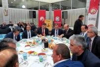 Başkan Tutal'dan Kaymakam Özyiğit'e Vefa Yemeği