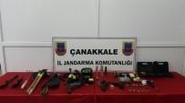 KAÇAK KAZI - Çanakkale'de Tarihi Eser Operasyonu